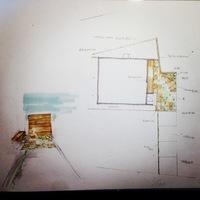 小田原市エクステリア工事 T様邸外構工事 石張り オリジナル立水栓 駐車場コンクリートのサムネイル